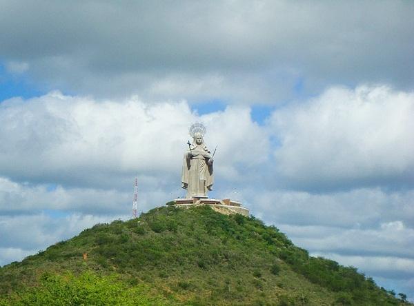 Estátua de Santa Rita - Santa Cruz RN